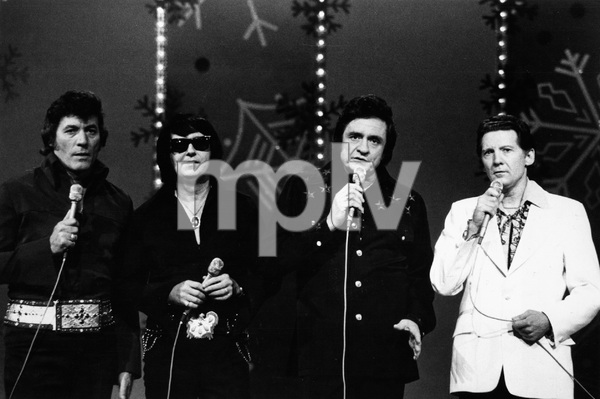 """""""The Johnny Cash Christmas Special""""Carl Perkins, Roy Orbison, Johnny Cash, Jerry Lee Lewis1977** H.L. - Image 18436_0001"""