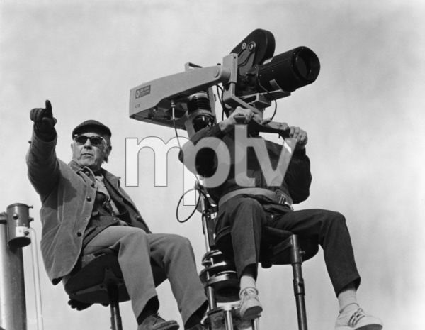 """""""The Andromeda Strain""""Director Robert Wise1971 Photo by Larry Barbier - Image 1849_0004"""
