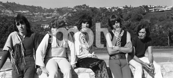 The Rolling Stones (Bill Wyman, Mick Taylor, Keith Richards, Mick Jagger, Charlie Watts) 1969 © 1978 Gunther - Image 1856_0003