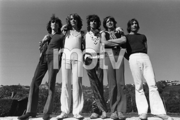 The Rolling Stones (Bill Wyman, Mick Taylor, Keith Richards, Mick Jagger, Charlie Watts) 1969 © 1978 Gunther - Image 1856_0004