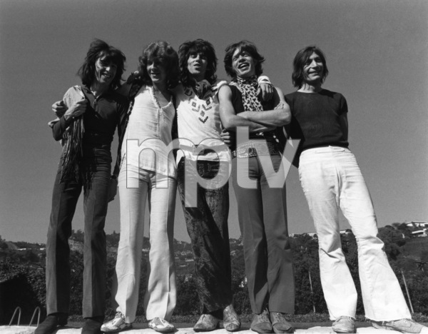 The Rolling Stones (Bill Wyman, Mick Taylor, Keith Richards, Mick Jagger, Charlie Watts) 1969 © 1978 Gunther - Image 1856_0007