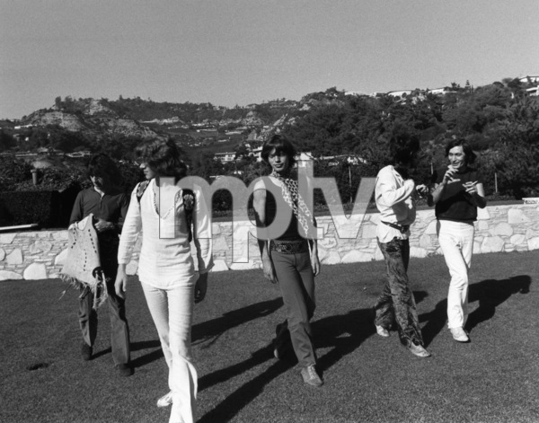 The Rolling Stones (Bill Wyman, Mick Taylor, Mick Jagger, Keith Richards, Charlie Watts) 1969 © 1978 Gunther - Image 1856_0008