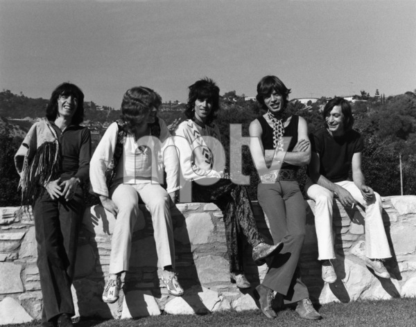 The Rolling Stones (Bill Wyman, Mick Taylor, Keith Richards, Mick Jagger, Charlie Watts) 1969 © 1978 Gunther - Image 1856_0009