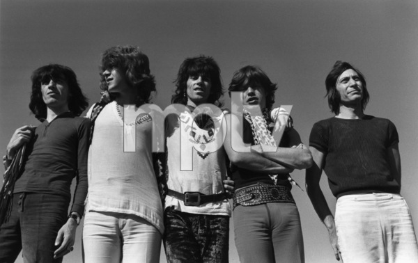 The Rolling Stones (Bill Wyman, Mick Taylor, Keith Richards, Mick Jagger, Charlie Watts) 1969 © 1978 Gunther - Image 1856_0010