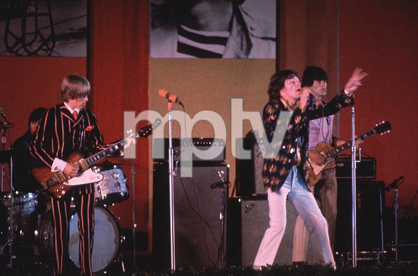The Rolling Stones (Charlie Watts, Brian Jones, Mick Jagger, Keith Richards) at the Hollywood Bowl 1968 © 1978 Bruce McBroom - Image 1856_0018