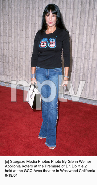© Stargaze Media Photos Photo By Glenn WeinerApollonia Kotero at the Premiere of Dr. Dolittle 2held at the GCC Avco theater in Westwood California6/19/01 - Image 18577_0100