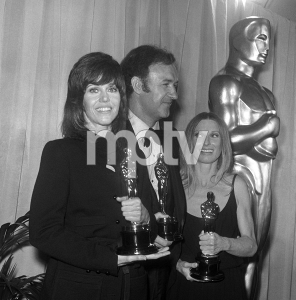 """The 44th Annual Academy Awards""Jane Fonda, Gene Hackman, Cloris Leachman1972© 1978 Joe Shere - Image 1862_0053"