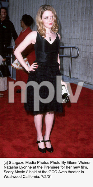 Natasha Lyonne at the Premiere for her new film,Scary Movie 2 held at the GCC Avco theater inWestwood California. 7/2/01. © 2001 Glenn Weiner - Image 18748_0110