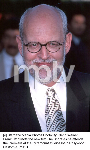 Frank Oz directs the new film The Score as he attendsthe Premiere at the Paramount studios lot in Hollywood California. 7/9/01. © 2001 Glenn Weiner - Image 18766_0109