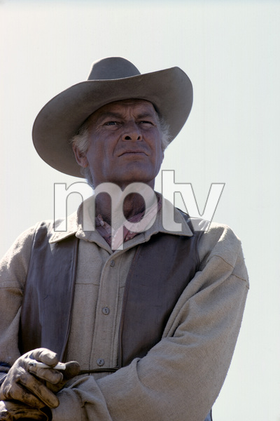 """The High Chaparral""Leif Erickson1968© 1978 Gene Trindl - Image 1883_0005"