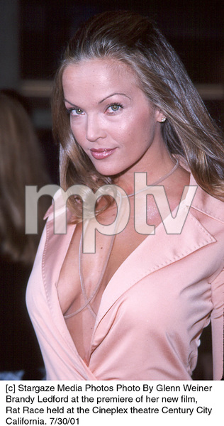 Brandy Ledford at the premiere of her new film,Rat Race held at the Cineplex theatre Century CityCalifornia. 7/30/01. © 2001 Glenn Weiner - Image 18920_0106