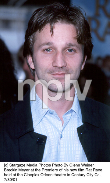Breckin Meyer at the Premiere of his new film Rat Race held at the Cineplex Odeon theatre in Century City Ca.7/30/01. © 2001 Glenn Weiner - Image 18920_0107