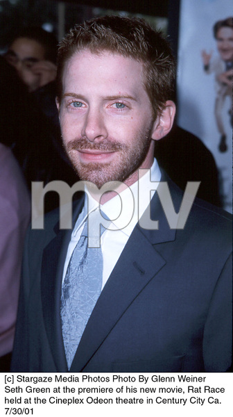 Seth Green at the premiere of his new movie, Rat Race held at the Cineplex Odeon theatre in Century City Ca. 7/30/01. © 2001 Glenn Weiner - Image 18920_0122