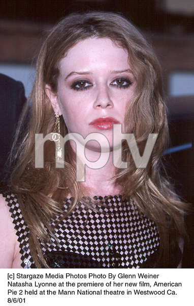 Natasha Lyonne at the premiere of her new film, AmericanPie 2 held at the Mann National theatre in Westwood Ca.8/6/01. © 2001 Glenn Weiner - Image 19048_0122