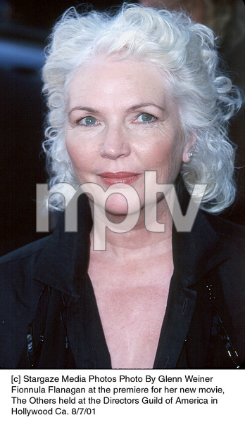Fionnula Flanagan at the premiere for her new movie,The Others held at the Directors Guild of America inHollywood Ca. 8/7/01. © 2001 Glenn Weiner - Image 19093_0107