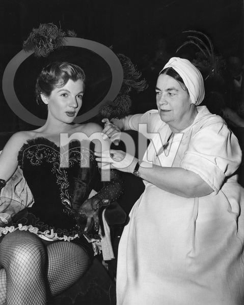 """Colgate Comedy Hour""Seamstress Kate Lawson, Corinne Calvetcirca 1951 NBC © 1978 Gerald Smith - Image 1911_0003"