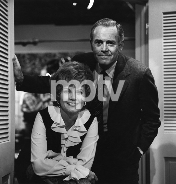 """The Smith Family""Henry Fonda, Janet Blaircirca 1972Photo by Wynn Hammer - Image 1917_0007"