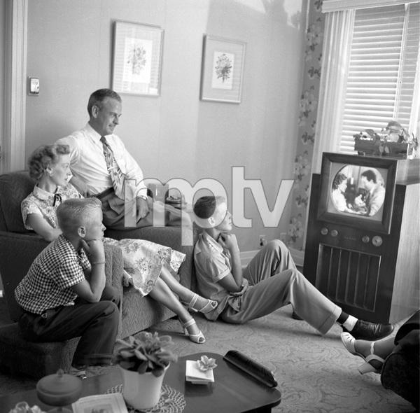 Rev. Herman W. Gockel and family7/14/1953 © 1978 Sid Avery - Image 19373_0001