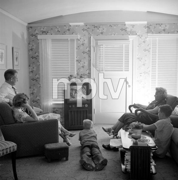Rev. Herman W. Gockel and family7/14/1953 © 1978 Sid Avery - Image 19373_0002