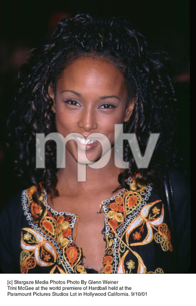 Trini McGee at the world premiere of Hardball held at the Paramount Pictures Studios Lot in Hollywood California. 9/10/01. © 2001 Glenn Weiner - Image 19384_0102