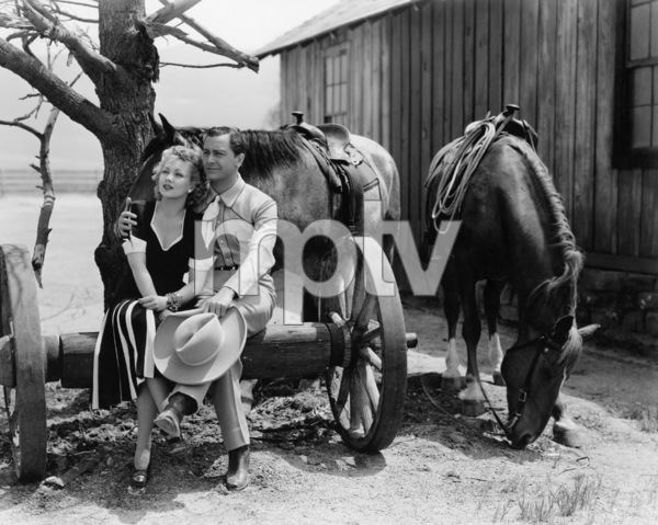"""Ann Sothern and Robert Young in """"Maisie""""1939 MGM** I.V/M.T. - Image 1957_0631"""