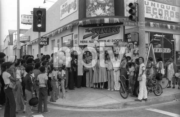 The Sylvers in Los Angeles1978 © 1978 Bobby Holland - Image 19575_0037