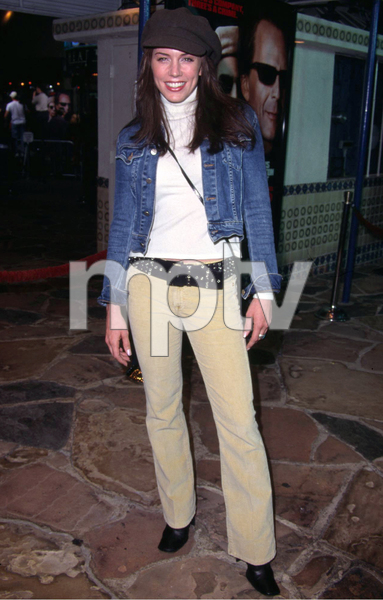 Krista Allen arrives at the Premiere of the new film Bandits held at the Mann Village theater in Westwood California. 10/04/01. © 2001 Glenn Weiner - Image 19588_0126