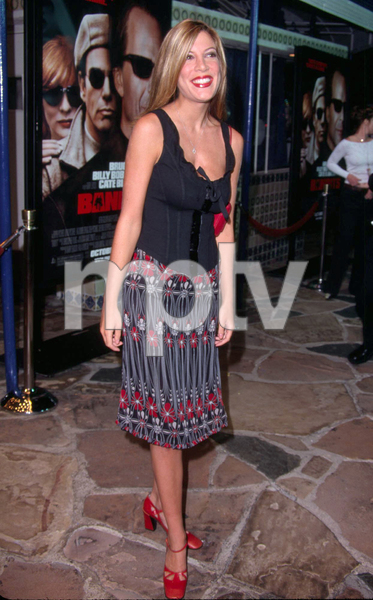 Tori Spelling at the premiere of the new film Bandits held at the Mann Village theater in Westwood Ca. 10/04/01. © 2001 Glenn Weiner - Image 19588_0133