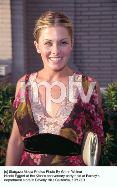 Nicole Eggert at the Kiehl