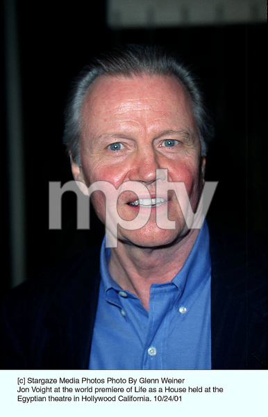 Jon Voight at the world premiere of Life as a House held at the Egyptian theatre in Hollywood California. 10/24/01. © 2001 Glenn Weiner - Image 19650_0108