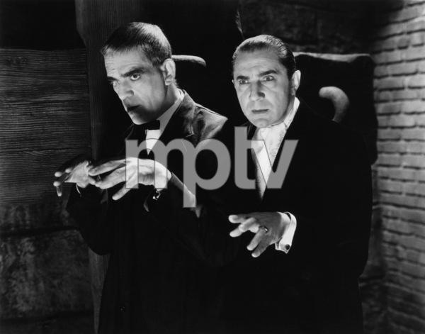 """The Raven""Boris Karloff, Bela Lugosi1935** I.V. - Image 19664_0005"
