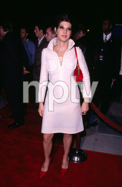 Marisa Tomei attends the premiere of her newest film, In the Bedroom held at the Academy of Motion Picture Arts and Sciences in Beverly Hills California. 11/15/01. © 2001 Glenn Weiner - Image 19680_0107