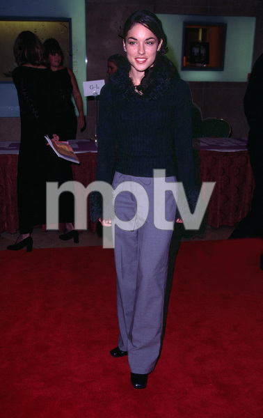 Tsianina Joelson arrives at the Evening of Stars benefit to raise money for cancer research. The event was held at the Beverly Hilton Hotel in Beverly Hills Ca. 11/17/01. © 2001 Glenn Weiner - Image 19688_0110