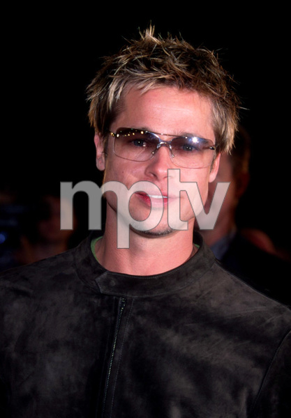 Brad Pitt at the world premiere of his new film, Spy Game. The premiere took place at the Mann National theatre in Westwood California. 11/19/01. © 2001 Glenn Weiner - Image 19691_0100