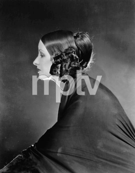 Natasha Rambova c 1922Wife of Rudolph ValentinoPhoto By James Abbe. ** I.V. - Image 19725_0001