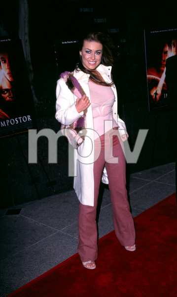"""The Impostor"" Premiere 12/4/01Carmen Electra in Westwood, California © 2001 Scott Weiner - Image 19746_0001"