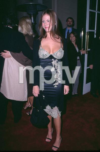 WB Newtwork Party 12/3/01 Nikki Cox in Beverly Hills, California © 2001 Scott Weiner - Image 19747_0005