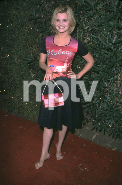 Heather Tom attends Fashion For Freedom held at the Chaz Dean studios in Hollywood California. 12/6/01. © 2001 Glenn Weiner - Image 19754_0106