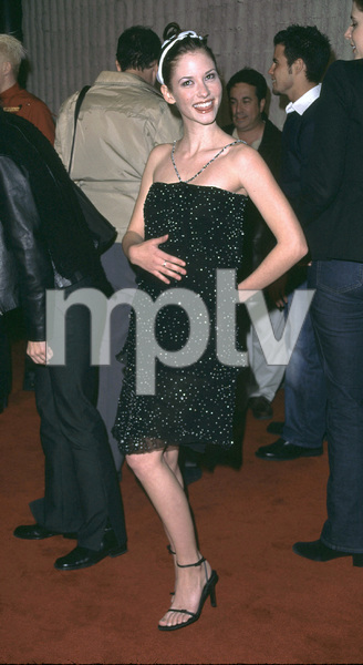 Chyler Leigh arrives at the premiere of her new film,Not Another Teen Movie held at the Avco theater in Westwood California. 12/07/01. © 2001 Glenn Weiner - Image 19755_0104
