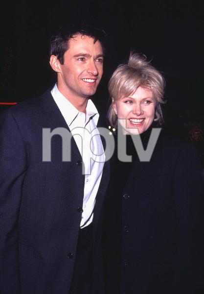 """""""Kate & Leopold"""" Premiere 12/11/01Hugh Jackman and wife Deborah Lee in Westwood, Ca. © 2001 Glenn Weiner - Image 19757_0110"""