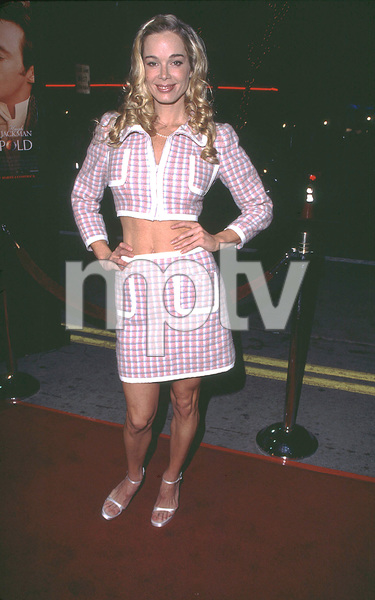 """Kate & Leopold"" Premiere 12/11/01Jennifer Gareis in Westwood, Ca. © 2001 Glenn Weiner - Image 19757_0114"
