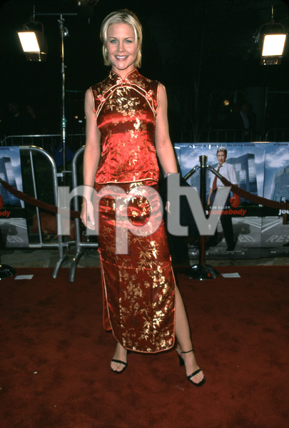 Josie Davis at the world premiere of the new film,Joe Somebody. Held at the Mann Village theater in Westwood California 12/19/01. © 2001 Glenn Weiner - Image 19766_0102