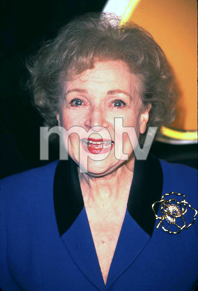 Betty White attends the NBC 75th anniversary press tour party in Hollywood Ca. 1/9/02. © 2002 Scott Weiner - Image 19803_0105