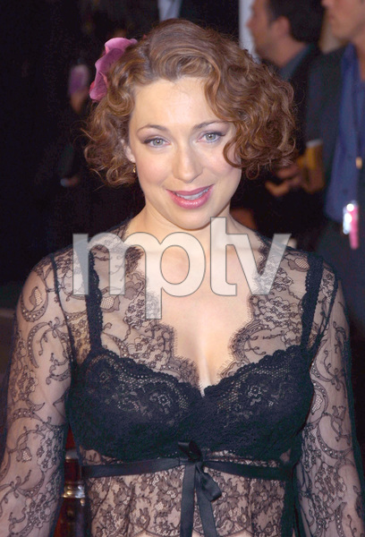 Alex Kingston star of ER at the 28th annual Peoples Choice awards in Pasadena Ca. 1/13/02. © 2002 Glenn Weiner - Image 19804_0104