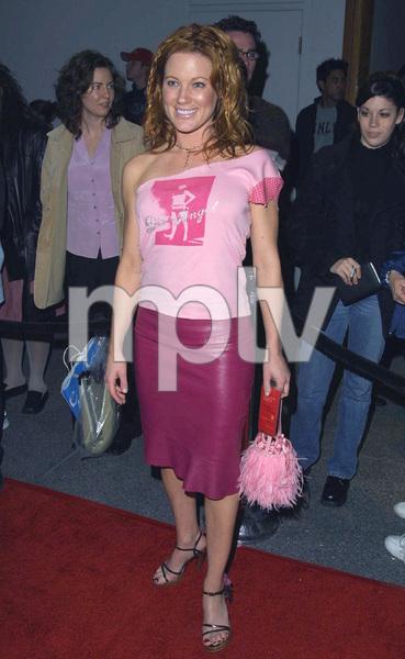 Elisa Donovan arrives at the WB Network Party in Pasadena California 1/15/02 © 2002 Glenn Weiner - Image 19805_0118