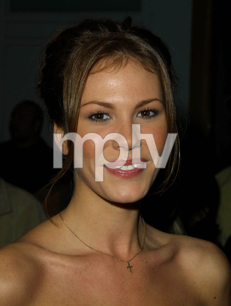 Nikki Cox attends the WB Network Party winter press tour in Pasadena California 1/15/02. © 2002 Glenn Weiner - Image 19805_0140