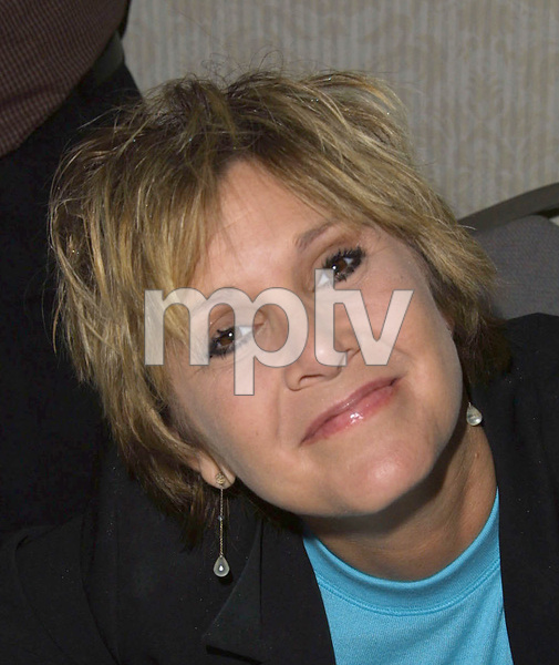 Carrie Fisher at the Hollywood Collectors show in North Hollywood California 1/20/02. © 2002 Glenn Weiner - Image 19812_0103