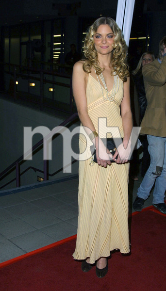 James King arrives at the premiere of her new film,Slackers. Held at the GCC theater in Hollywood California 1/29/02. © 2002 Glenn Weiner - Image 19854_0107