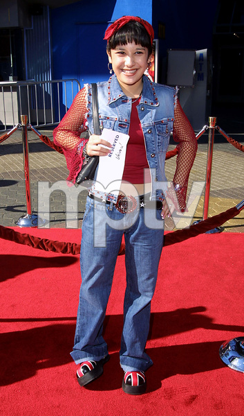 Lalaine  Dupree arrives at the world premiere of the new film, Big Fat Liar held at the Loews theater in Universal City California 2/2/02. © 2002 Glenn Weiner - Image 19856_0115
