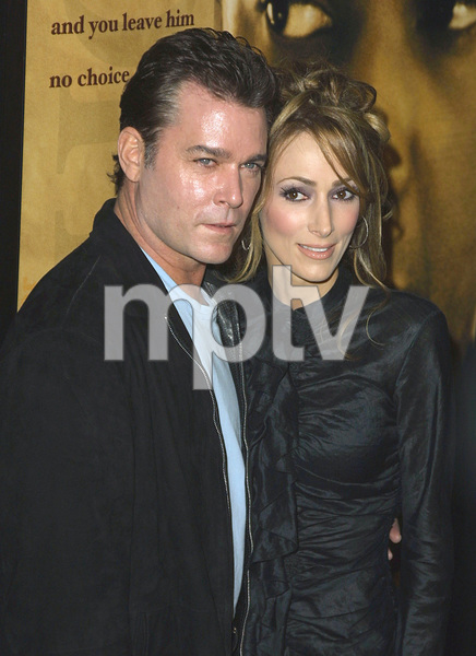 Ray Liotta along with his wife Michelle attends the ...